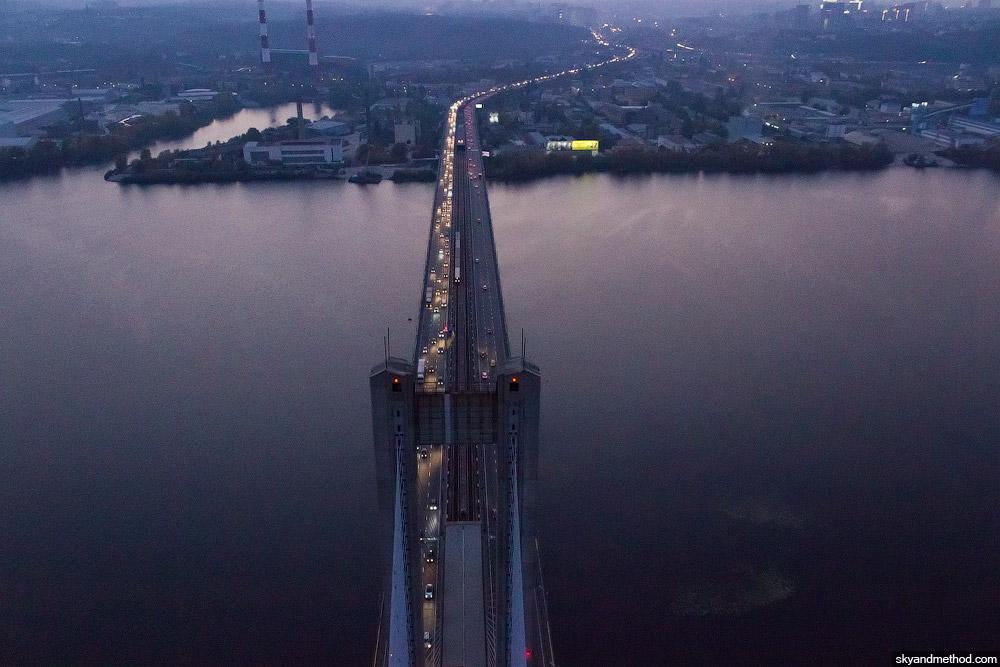 Аэросъёмка Южный мост