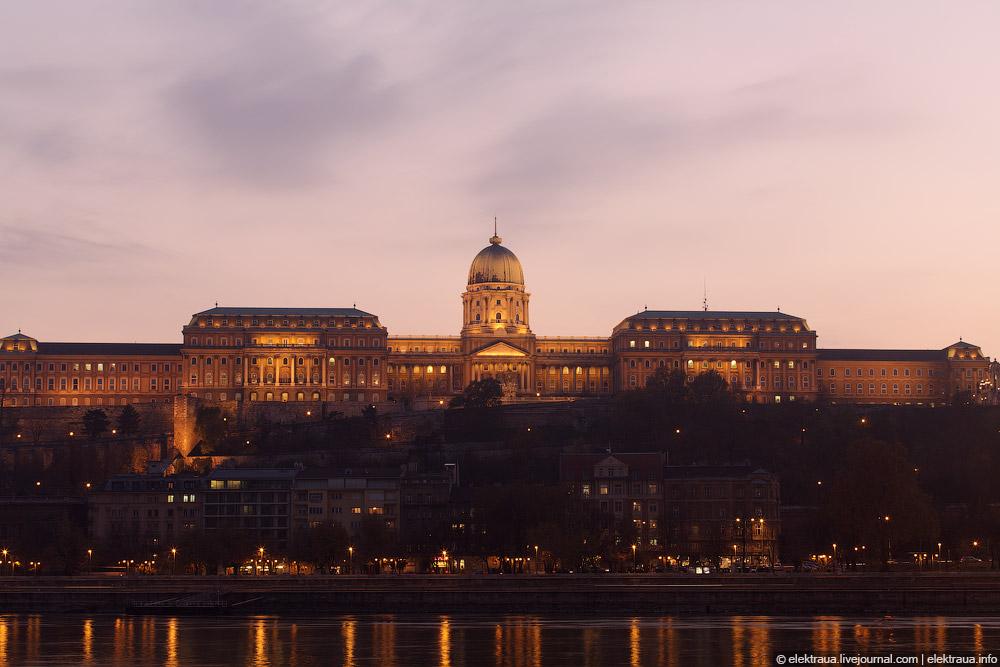 Будапешт. Рыбацкий бастион вечером