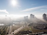 В Киеве снова туман