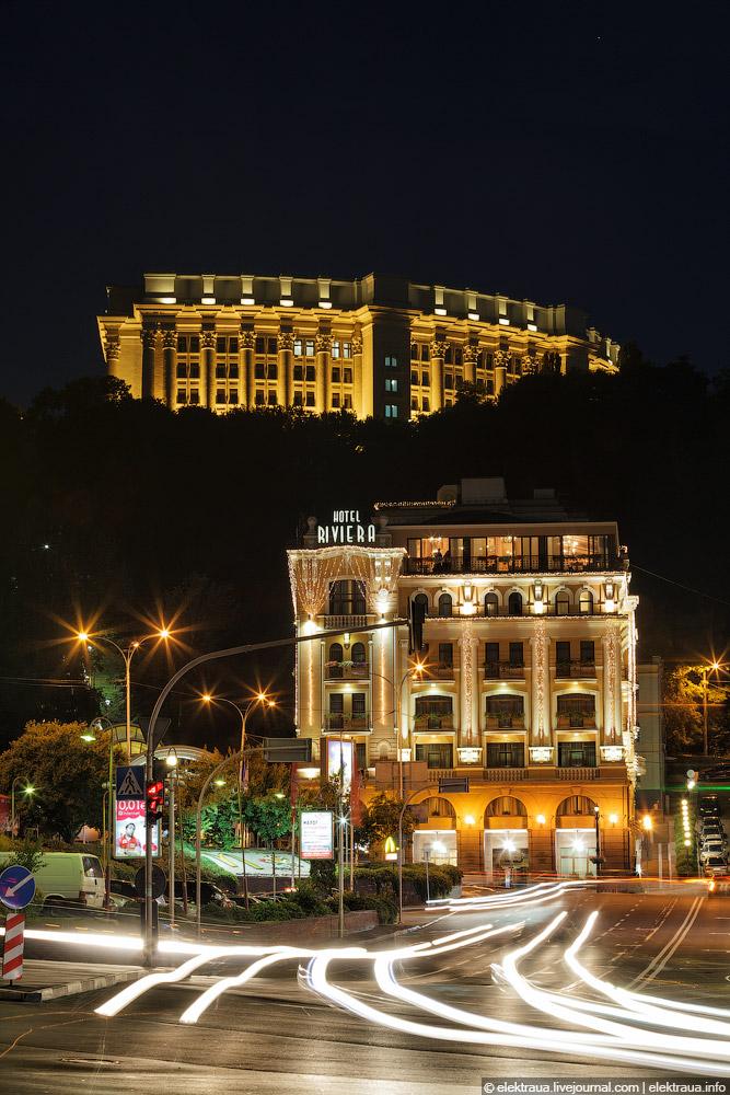 "МИД и гостиница ""Ривьера"" на Подоле"