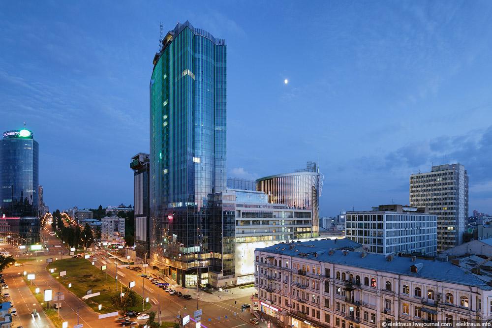 Деловой центр Киева